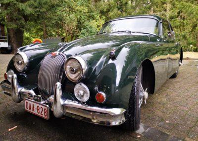 JAGUAR XK 150 COUPE 1957