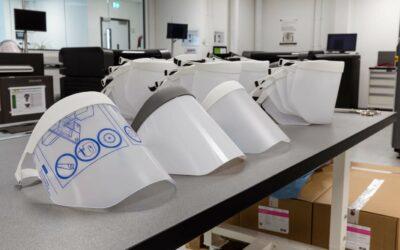 Ge-3D-printe beschermvizieren