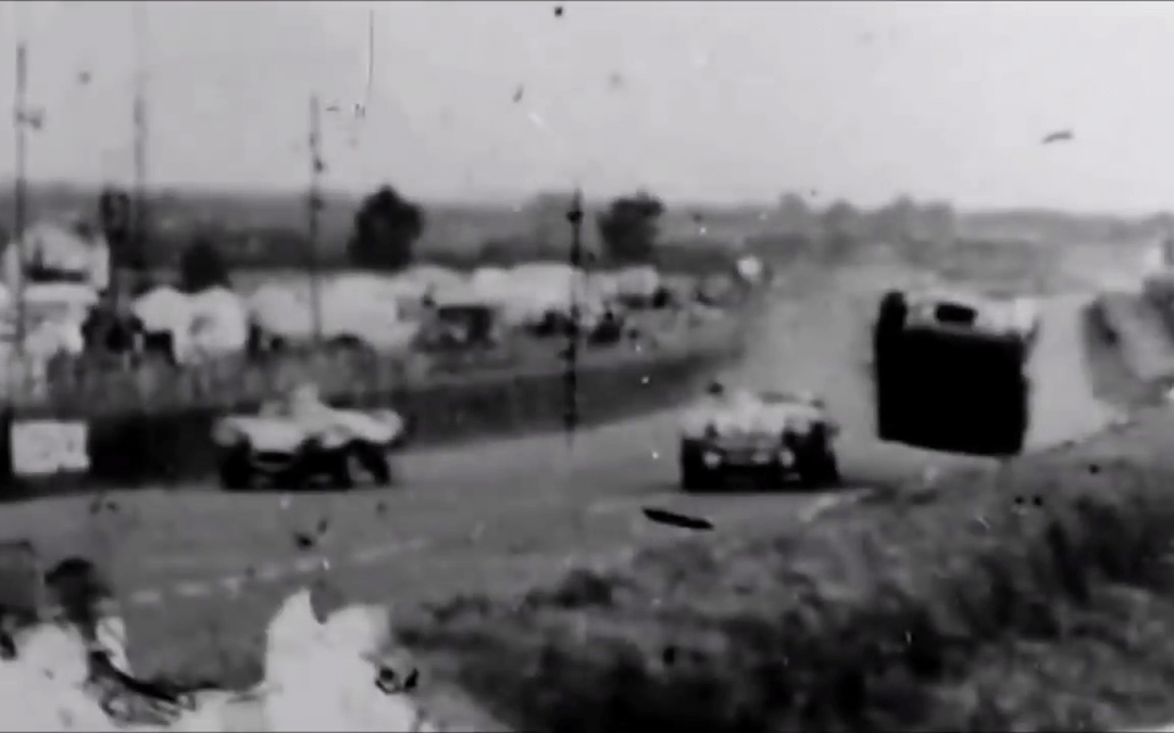 Le Mans in 1955 – crash