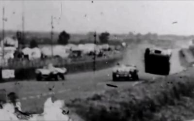 Le Mans in 1955 – crash
