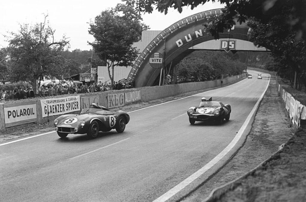 Circuit van Le Mans in 1956