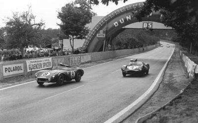 Circuit au Mans en 1956